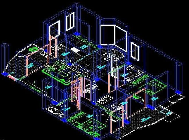 浅谈掌握和运用CAD建筑制图的一点经验与大家分享 1