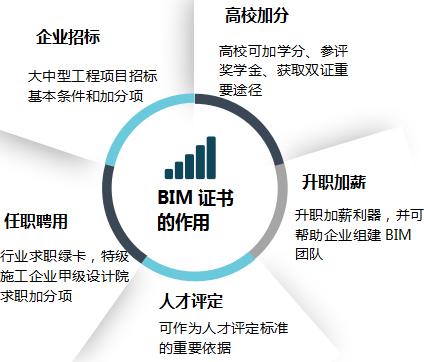 哪种BIM证书认证更具权威性社会认可度更高? 2