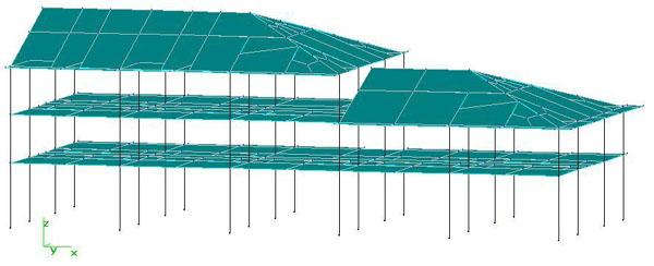建筑结构设计常用荷载之楼顶楼面荷载取值计算举例 1
