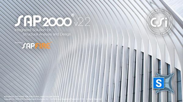 SAP2000 v22.1 简体中文开心学习旗舰版(含中国规范) 1