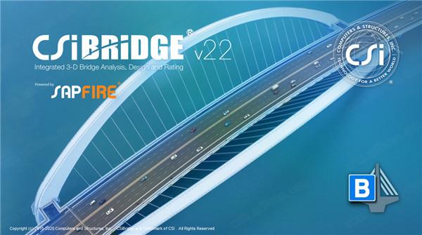 CSi Bridge v22(桥梁建模分析软件)64位简体中文破解版 1