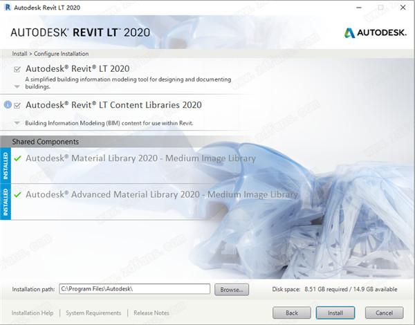 Autodesk Revit LT 2020 中文学习研究特别版(附安装教程) 4