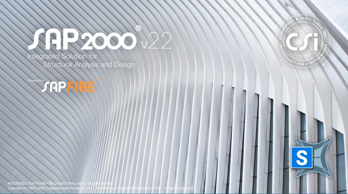SAP2000 v22.2简体中文开心学习和谐旗舰版(含中国规范) 1