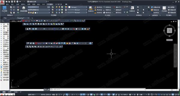T20天正暖通CAD V7.0开心学习研究版含和谐补丁附安装教程 3
